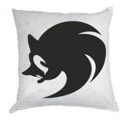 Подушка Sonic logo