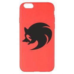 Чехол для iPhone 6 Plus/6S Plus Sonic logo