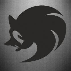 Наклейка Sonic logo