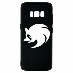 Чехол для Samsung S8 Sonic logo