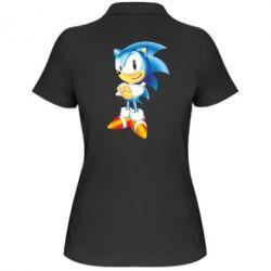 Женская футболка поло Sonic - FatLine