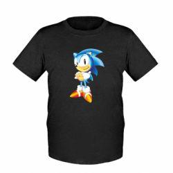 Детская футболка Sonic - FatLine