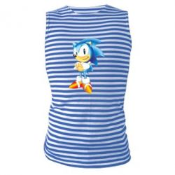 Майка-тельняшка Sonic - FatLine