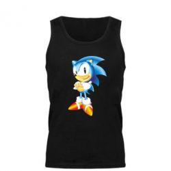 Купить Игры, Мужская майка Sonic, FatLine