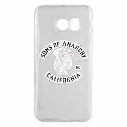 Чехол для Samsung S6 EDGE Sons of Anarchy Samcro Original