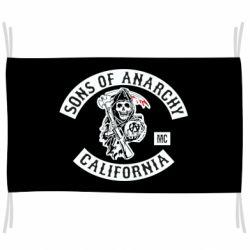 Флаг Sons of Anarchy Samcro Original