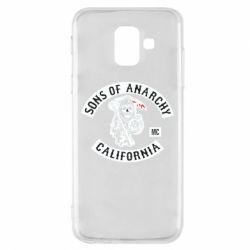 Чехол для Samsung A6 2018 Sons of Anarchy Samcro Original