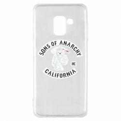 Чехол для Samsung A8 2018 Sons of Anarchy Samcro Original