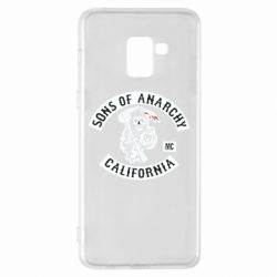 Чехол для Samsung A8+ 2018 Sons of Anarchy Samcro Original