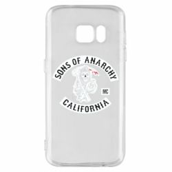 Чехол для Samsung S7 Sons of Anarchy Samcro Original