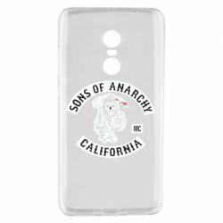 Чехол для Xiaomi Redmi Note 4 Sons of Anarchy Samcro Original