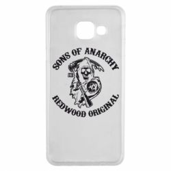 Чехол для Samsung A3 2016 Sons of Anarchy