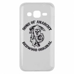 Чехол для Samsung J2 2015 Sons of Anarchy