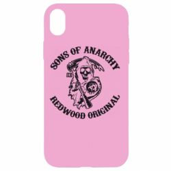 Чехол для iPhone XR Sons of Anarchy