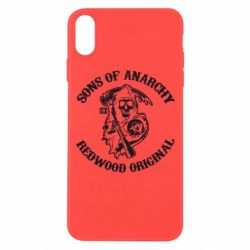 Чехол для iPhone Xs Max Sons of Anarchy