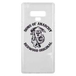 Чехол для Samsung Note 9 Sons of Anarchy