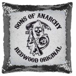 Подушка-хамелеон Sons of Anarchy