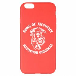 Чехол для iPhone 6 Plus/6S Plus Sons of Anarchy