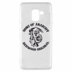 Чехол для Samsung A8 2018 Sons of Anarchy