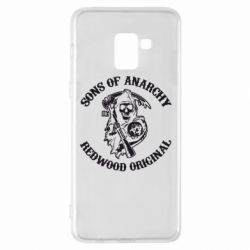 Чехол для Samsung A8+ 2018 Sons of Anarchy