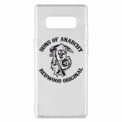 Чехол для Samsung Note 8 Sons of Anarchy
