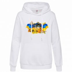 Женская толстовка Сонячна Україна - FatLine