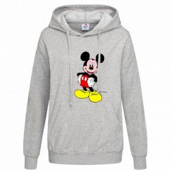 Женская толстовка Сool Mickey Mouse - FatLine