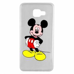 Чохол для Samsung A7 2016 Сool Mickey Mouse