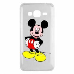 Чохол для Samsung J3 2016 Сool Mickey Mouse
