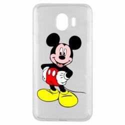Чохол для Samsung J4 Сool Mickey Mouse
