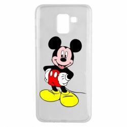 Чохол для Samsung J6 Сool Mickey Mouse