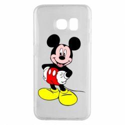 Чохол для Samsung S6 EDGE Сool Mickey Mouse