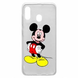 Чохол для Samsung A20 Сool Mickey Mouse