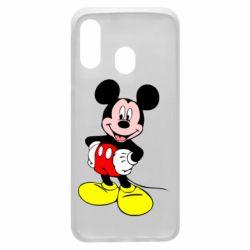 Чохол для Samsung A40 Сool Mickey Mouse