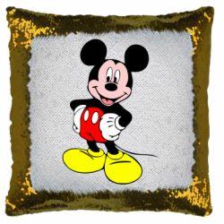 Подушка-хамелеон Сool Mickey Mouse