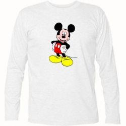 Футболка с длинным рукавом Сool Mickey Mouse - FatLine