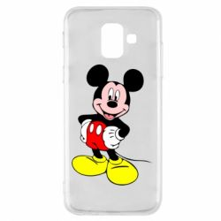 Чохол для Samsung A6 2018 Сool Mickey Mouse