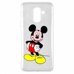 Чохол для Samsung A6+ 2018 Сool Mickey Mouse