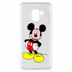 Чохол для Samsung A8 2018 Сool Mickey Mouse
