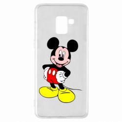 Чохол для Samsung A8+ 2018 Сool Mickey Mouse