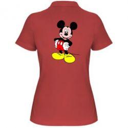 Женская футболка поло Сool Mickey Mouse