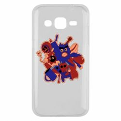 Чохол для Samsung J2 2015 Сool sticker