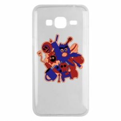 Чохол для Samsung J3 2016 Сool sticker