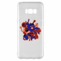 Чохол для Samsung S8+ Сool sticker