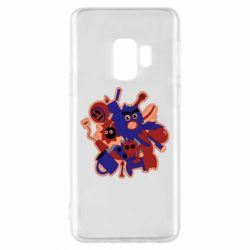 Чохол для Samsung S9 Сool sticker