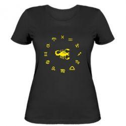 Жіноча футболка сорпион 4 - FatLine