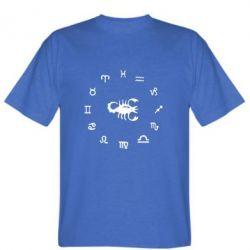 Мужская футболка сорпион 4 - FatLine
