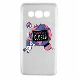 Чохол для Samsung A3 2015 Sorry we're closed