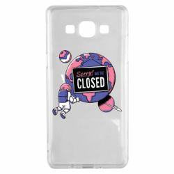 Чохол для Samsung A5 2015 Sorry we're closed