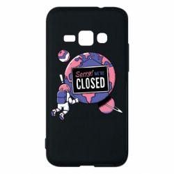 Чохол для Samsung J1 2016 Sorry we're closed